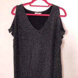Black going-out top